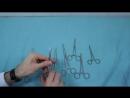 Хирургические инструменты для остановки кровотечения и выключения кровообращения.