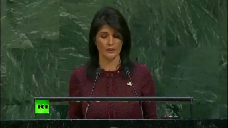 Les Etats-Unis apportent d'importantes contributions à l'ONU, ils espèrent être respectés - Haley à l'Assemblée Générale des Nat