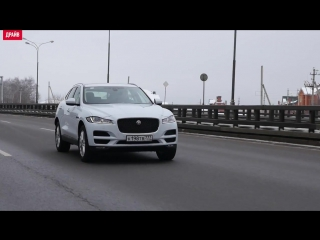 Mercedes GLC Coupe и Jaguar F-Pace тест-драйв