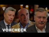 VoxCheck слів Гриценка, Бойка та Рабиновича