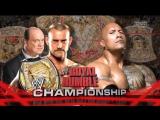 CM Punk vs The Rock Royal Rumble 2013 Highlights
