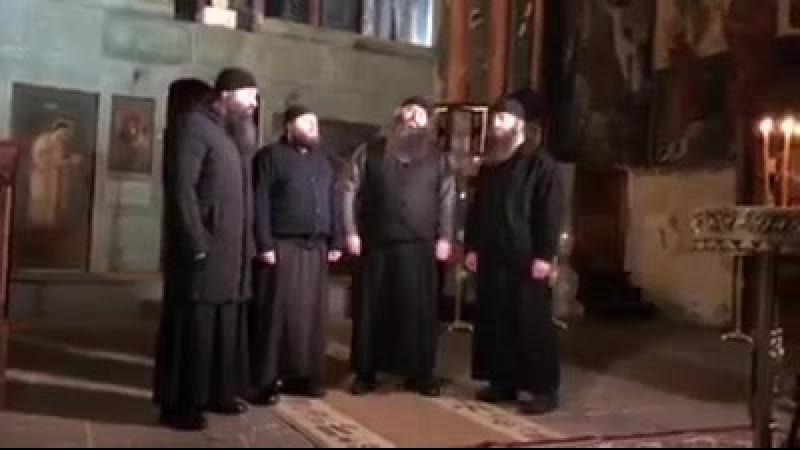 Песнопение пресвятой богородице,монастир Зарзма юглзапад Грузии.