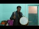 Марийский барабан мастера М.П. Кутлусатова (восточные мари, с.Бахтыбаево, Бирский р-он, Башкортостан)
