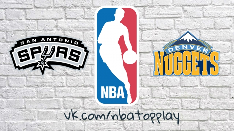 NBA 2017-2018 / RS / 13.02.2018 / San Antonio Spurs vs Denver Nuggets