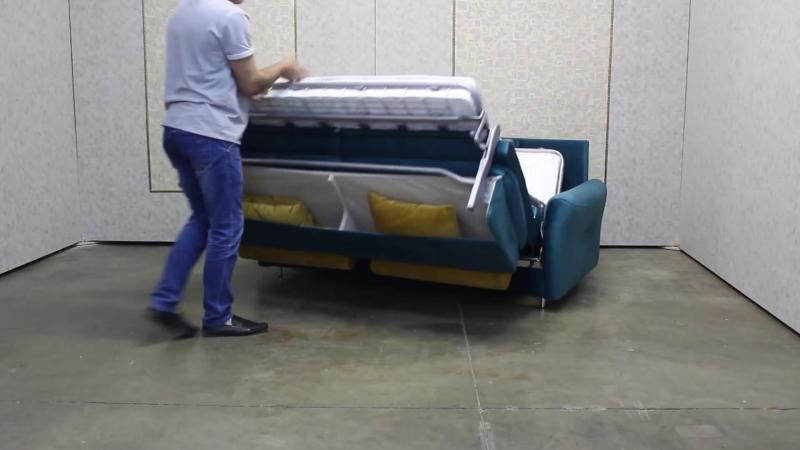Самый удобный механизм трансформации дивана в кровать. Преимущества дивана-стайлинга!