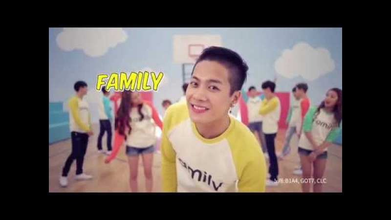 [가족사랑의날] B1A4 (비원에이포) GOT7 (갓세븐) Collabo - Family (패밀리)