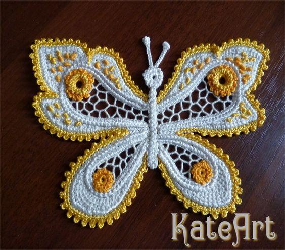 飞舞的彩蝶+花边的童话+神奇的爱尔兰花边 - maomao - 我随心动