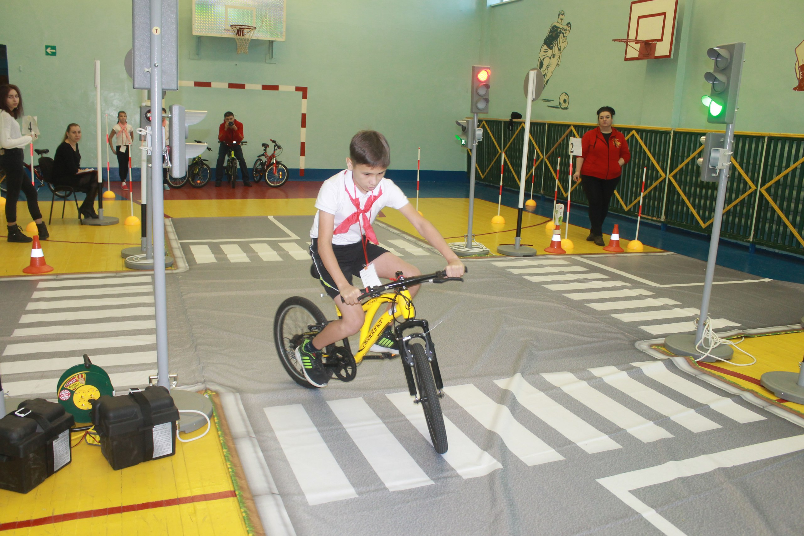 Конкурс юных велосипедистов «Безопасное колесо»