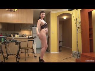 Alana Rains Erotic, No Sex, Panty, Posing, Stockings, Striptease, Tease, Underwear эротика  секс порно минет шлюха  Стриптиз