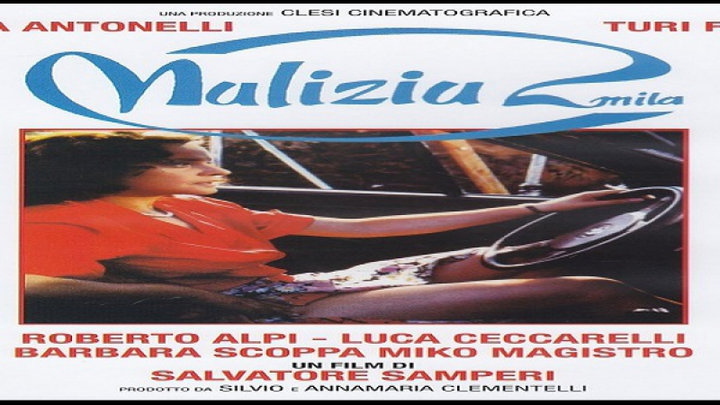 1991 Malizia 2000 - Salvatore Samperi. - Laura Antonelli, Turi Ferro, Roberto Alpi, Luca Ceccarelli, Barbara Scoppa