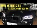 Чип тюнинг BMW X5 F15 3.0D 300лс