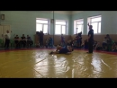 на соривнованиях по грекоримской борьбе 1 место