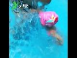 Бассейн для детей в X-Fit