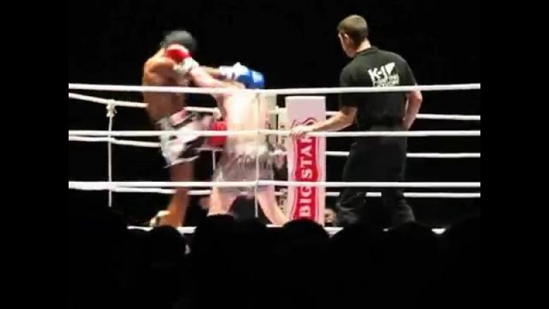 V-s.mobiБуакав Пор. Прамук и Джабар Аксеров Buakaw Por Pramuk vs Dzhabar Askerov K 1 2007