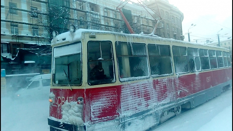 ВТК-24 [71-605 (КТМ-5)] №СВ-17 Ж/д вокзал г.Днепропетровск