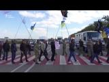 Ветераны войны на Донбассе перекрыли трассу «Киев - Чоп» из-за прекращения выделения земли