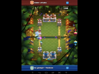 clash royal деморализация