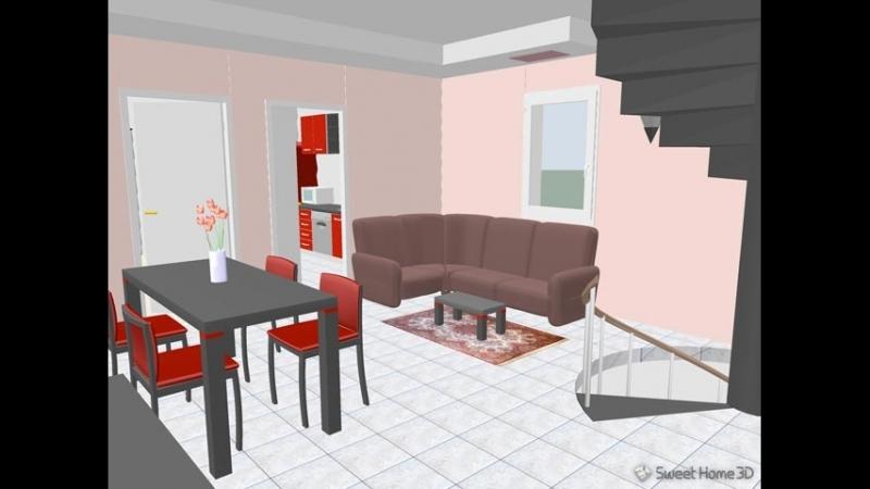 Построение проекта помещения в программе Sweet Home 3D