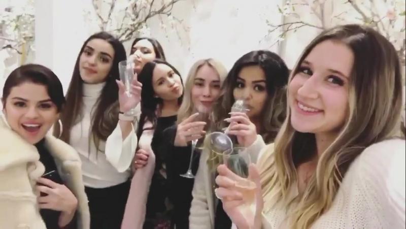 Публикация Бриттани Джордан в «Instagram Stories» за 22 декабря 2017