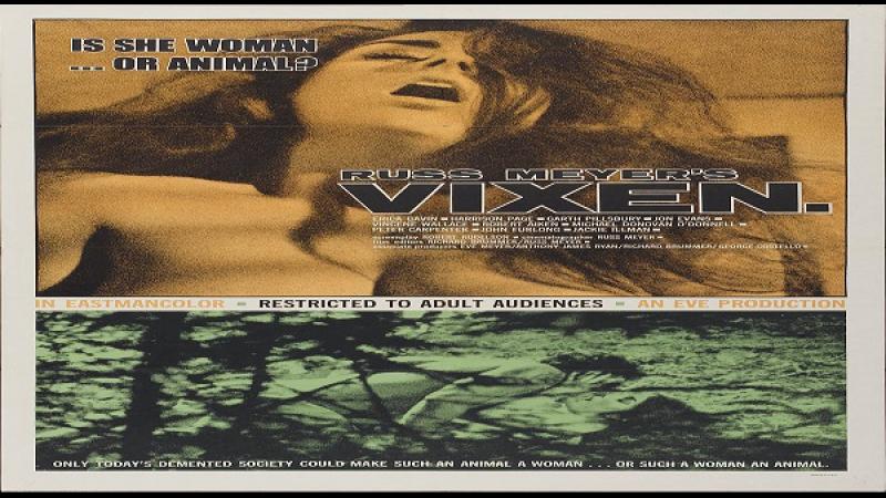 1968 Russ Meyer Vixen Erica Gavin Garth Pillsbury Harrison Page Jon Evans