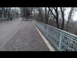 20171205_132218. Прогулка по Киеву. Прогулка по Парковому мосту и ниже