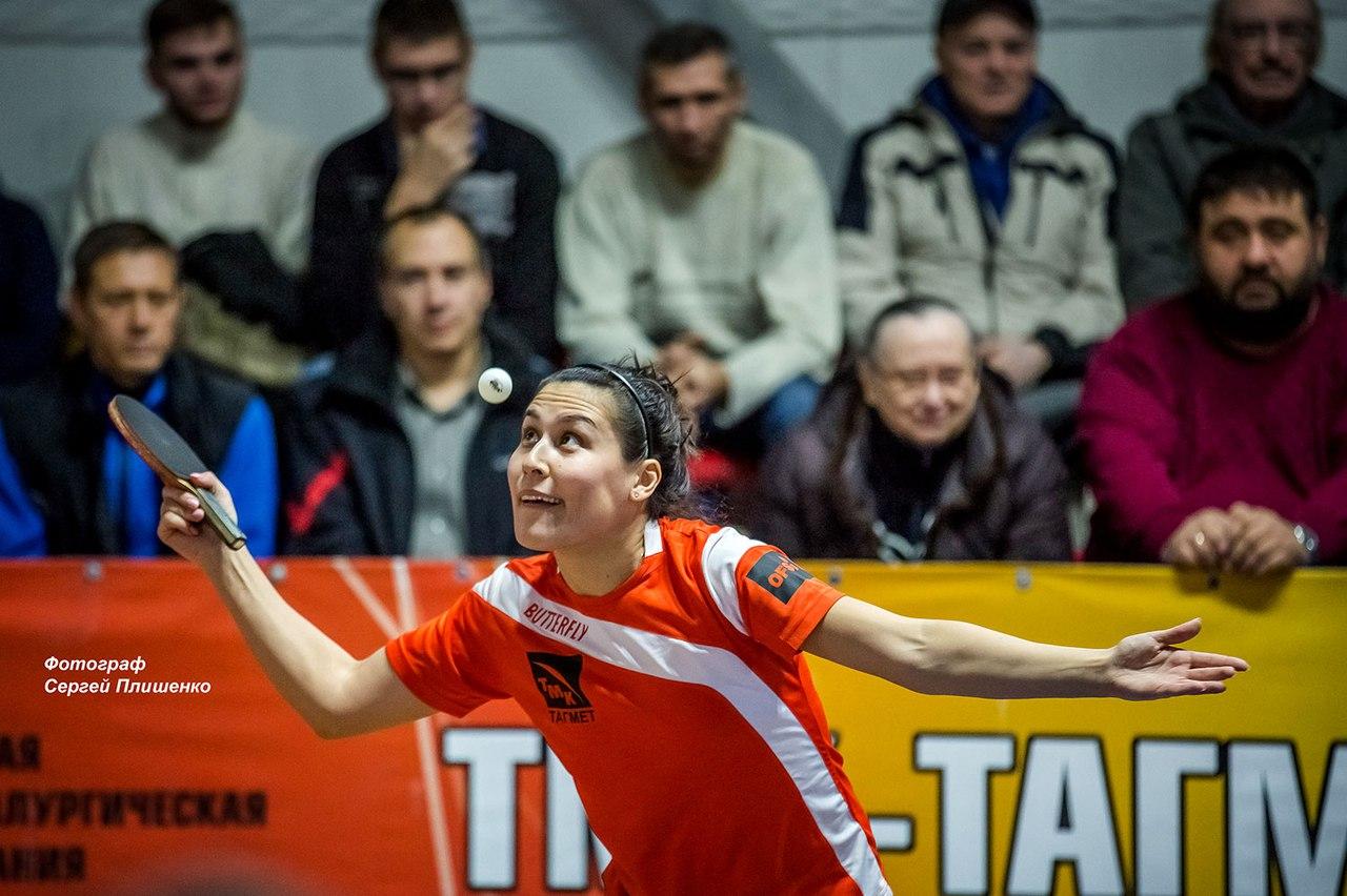 Таганрогские теннисистки «ТМК-Тагмет» победили без оговорок