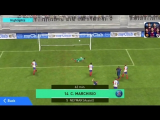 PES18 Mobile - Marchisio goal
