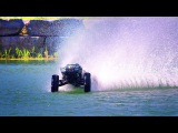 Big-Air Hydroplane Bash  Traxxas X-Maxx