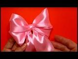 🎀 Бант из Ленты Своими Руками/Ribbon Hair Bow Tutorial/Как Сделать завязать красивый бантик