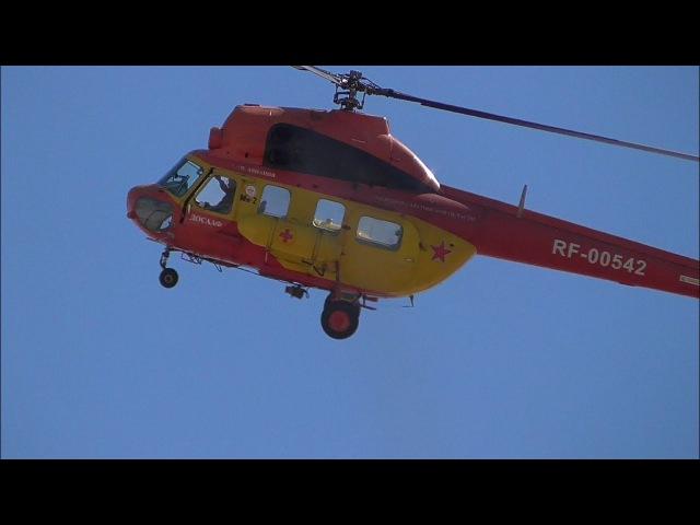 Высший пилотаж на вертолете Ми 2