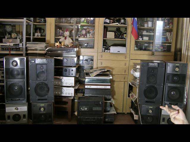 Вега 50ас-106 против Radiotehnika S-50B усилитель Корвет