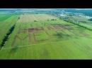 Тракторы МТЗ распахали гигантскую надпись Беларусь - страна мечты