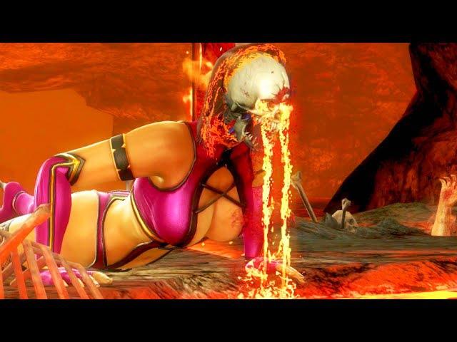 Mortal Kombat IX All Stage Fatalities on Mileena (Costume 1) PC 60FPS 1080p