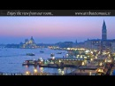 Venice Italy Live Cam - St. Mark's Basin in Live Streaming from Tribute to Music Venice