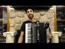 How to Play a 96 Bass Accordion - Lesson 2 - Serbian Kolo in 7/8 - Ajde Jano