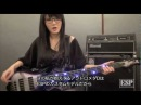 ESP Guitars: Introduces the Doris's (CHTHONIC/閃靈) Sig. Model ANDROMEDA D (日本語字幕)