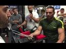 Rustam Babaiev and Vazgen Soghoyan Armwrestling Training- Wrist move towards bicep