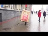 Прогулки Гранд Биг Мака по Минску