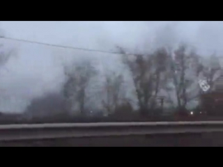 Дым в районе Бадалыка
