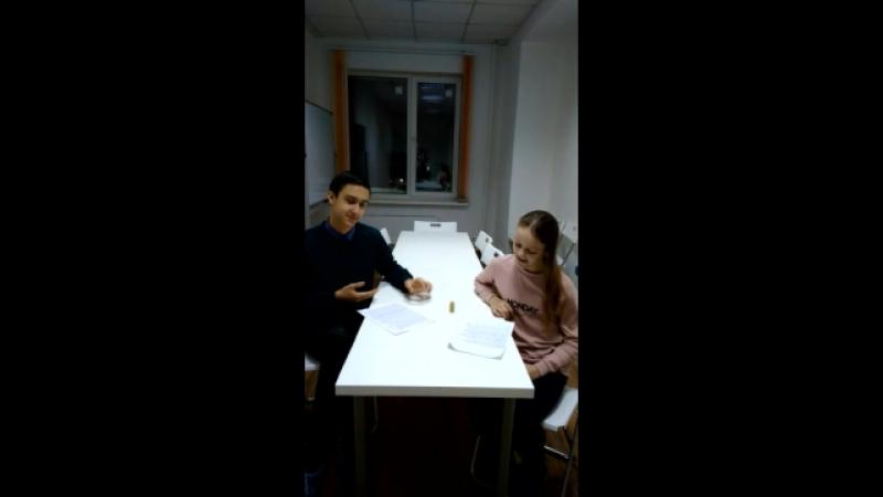 Белых Никита и Гуляева Анастасия (Техника речи, скороговорка Лигурия)
