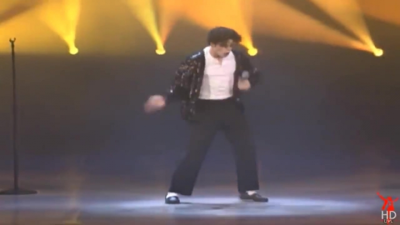 Michael Jackson Best MoonWalk Ever!! [HD]