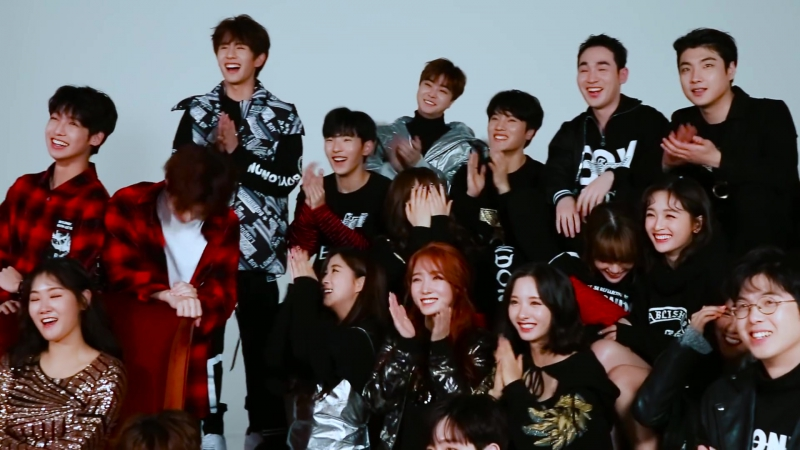 [VK][180115][Making Film] MONSTA X photoshoot Starship Planet 2017 @ HIGH CUT