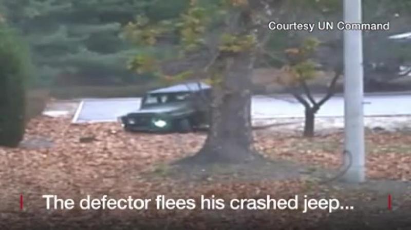 Северокорейский солдат бежал в Южную Корею