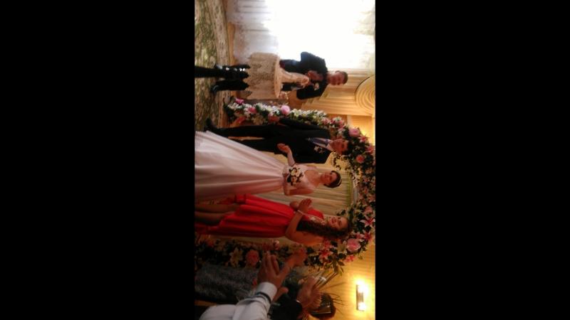 светулькина свадьба СУСЛОВЫ 2016г