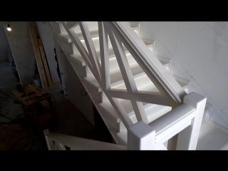 Изготовили и смонтировали лестницу на металлокаркасе из сосны телефон 8 919 690 38 98 WhatsApp цена данной лестницы под ключ раб