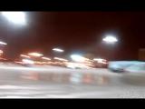дрифт на жигах на леруа мерлен в городе Пушкино,первый снег 28.11.17