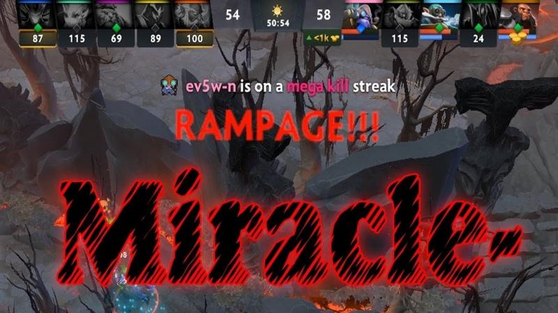 Outhype Darkness Miracle Если союзники хотят слить он просто делает рэмпейдж