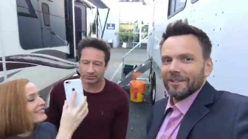 Behind-the-scenes from joel mchale