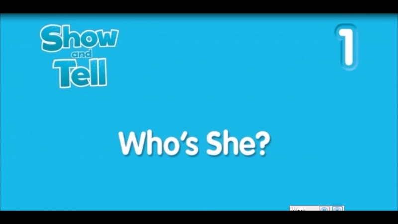 Whos she show and tell 1 story