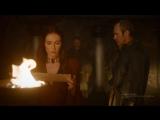 Игра Престолов - На Драконьем Камне. Мелисандра: Война Пяти Королей ничего не значит. Настоящая война грядёт на Севере.